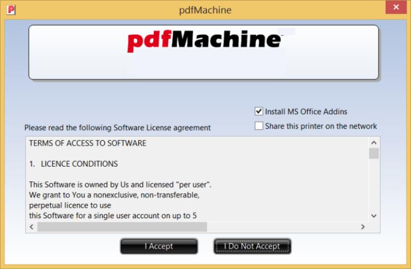 Broadgun pdfMachine Ultimate windows