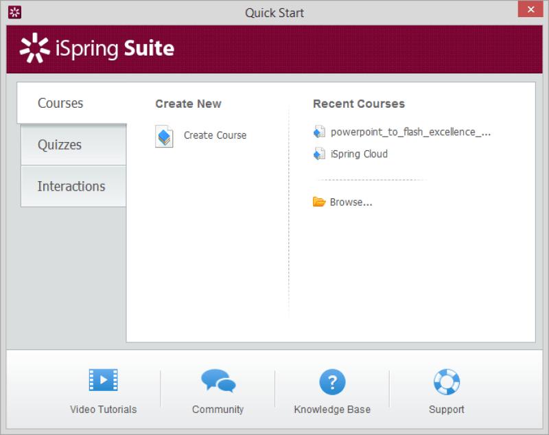 iSpring Suite windows