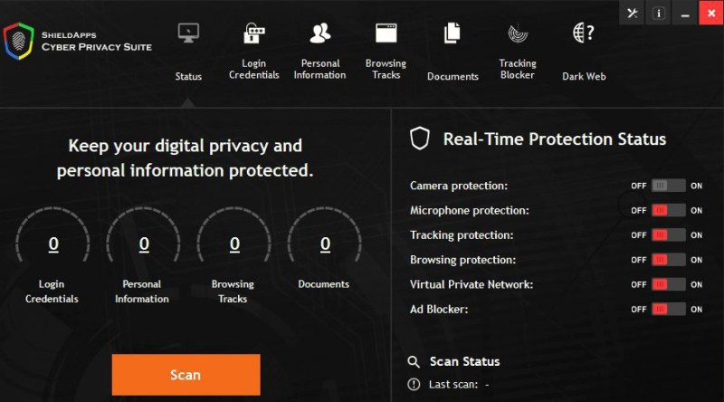 Cyber Privacy Suite windows