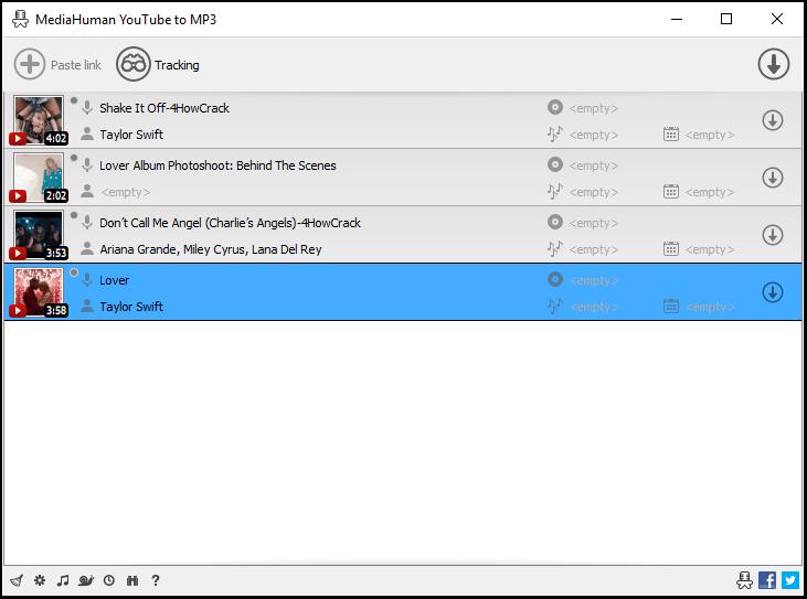 MediaHuman YouTube To MP3 Converter windows