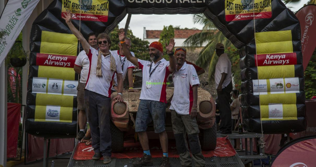 Kenya Airways Safari Classic, East Africa Safari Classic Rally, Kenya Airways East African Safari Classic Rally, Scott Armstrong, Harpal Sudle