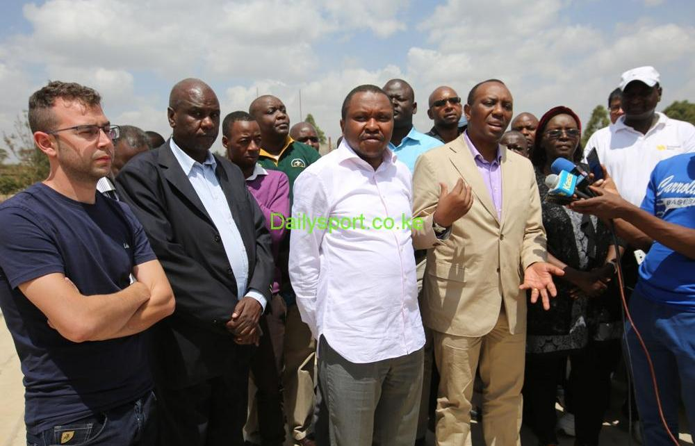 Kirimi Kaberia, Fred Muteti, Sports Kenya, Kipchoge Keino stadium,