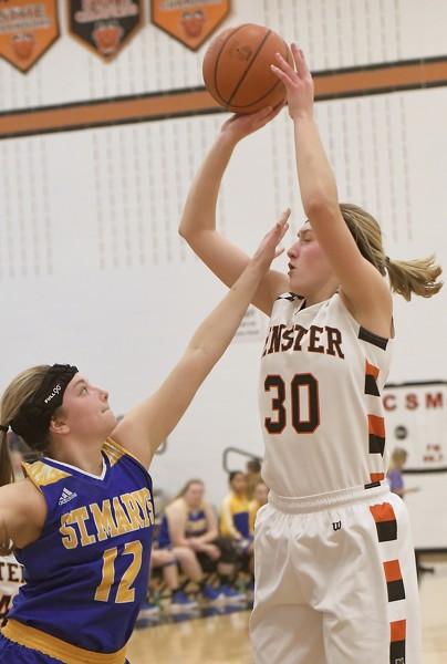 Minster vs St. Marys girls basketball Photo Album | The ...