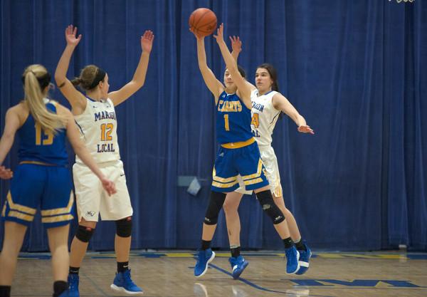 Marion Local vs St. Marys girls basketball Photo Album ...