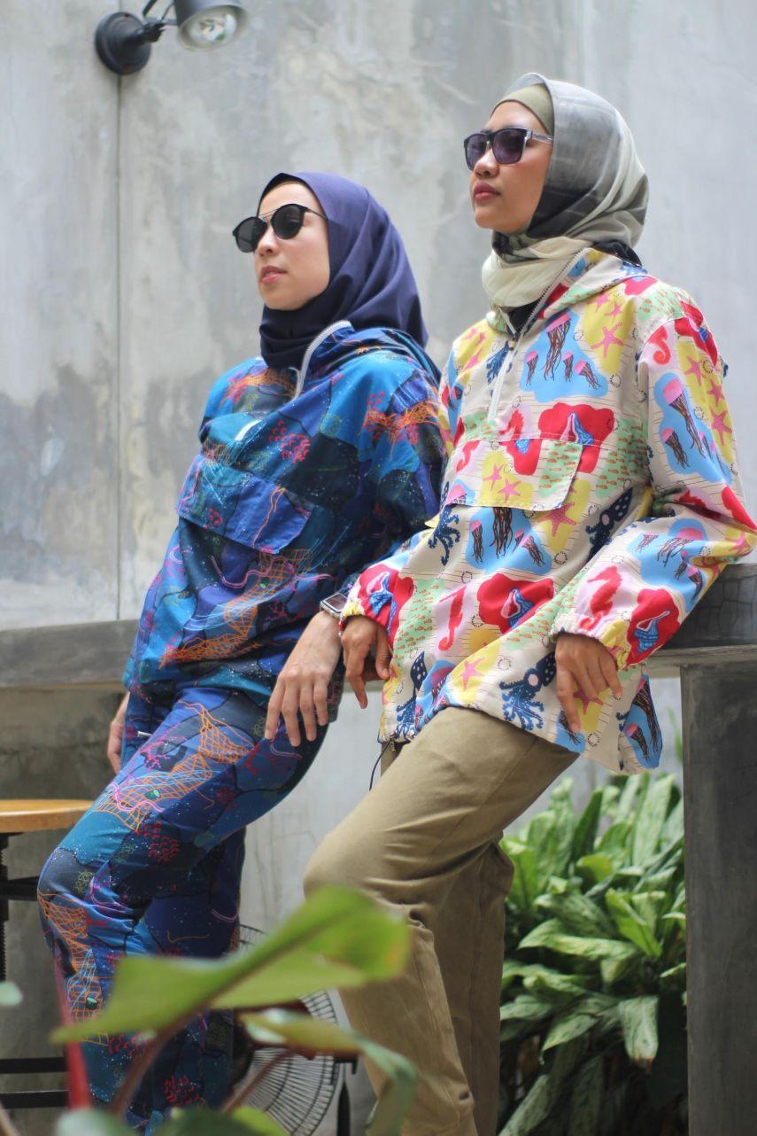 Intan Juliana (left) and her business partner Dina Nurjana. Photo: Supplied.