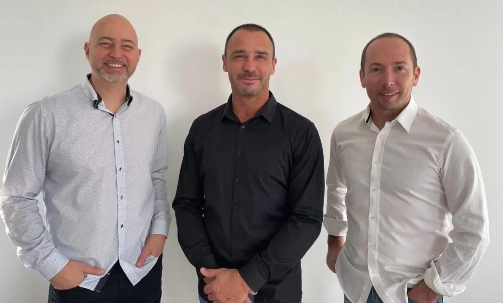 Safie App Founders. From Left:From left: Matt Ball, Ross Sbisa, Chris Jonker. Supplied.