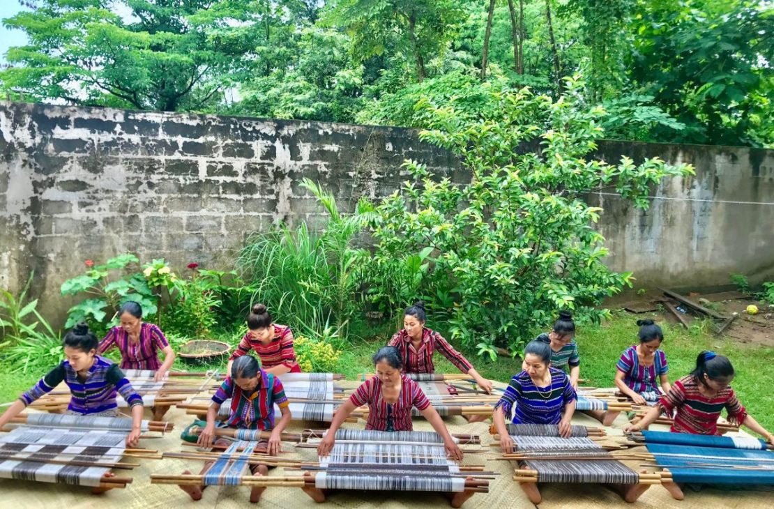 The weavers of Khang Laos. Supplied.