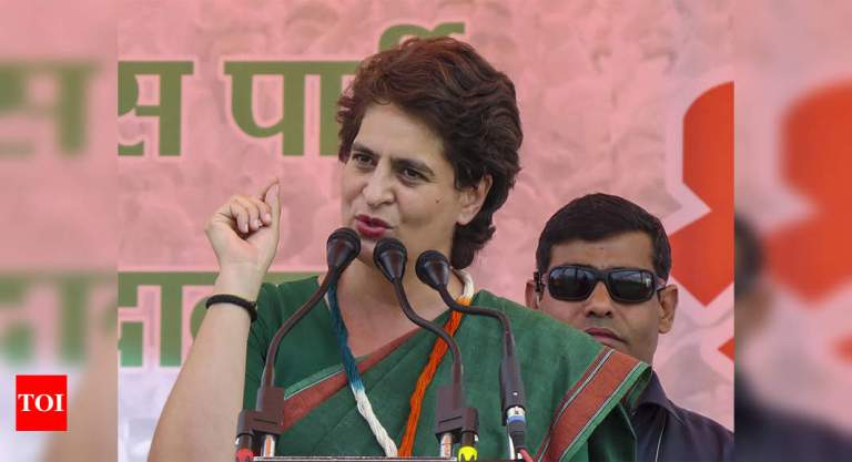 Oxygen emergency in UP, recognise seriousness of situation: Priyanka Gandhi tells Yogi Adityanath | India News