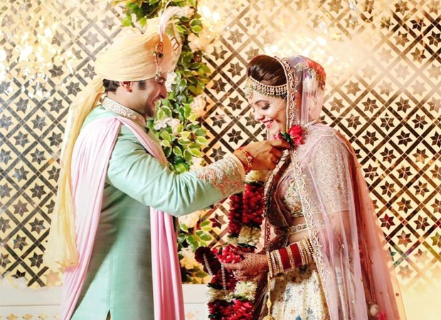 Sugandha Mishra and Sanket Bhosale share first pictures from their engagement and wedding ceremonies : Bollywood News