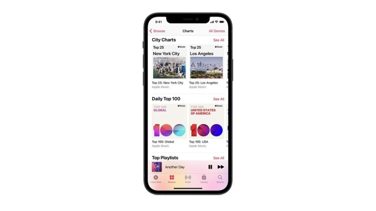 Apple Music Launches Top 25 Playlists for 100 Cities Around the World With iOS 14.5 Update
