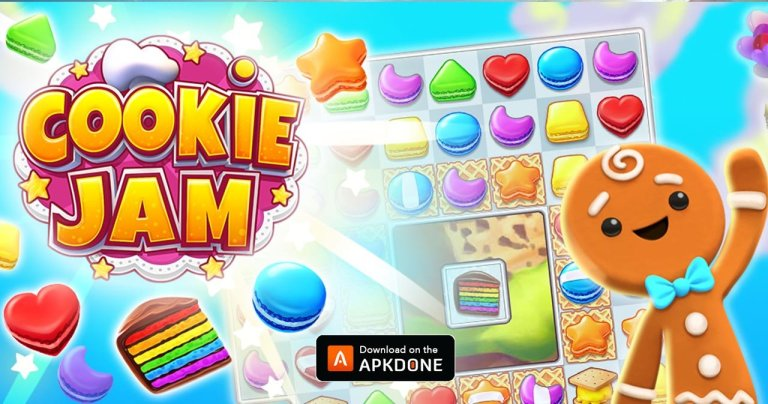 Cookie Jam MOD APK 11.70.115 Download (Unlimited Money) for Android