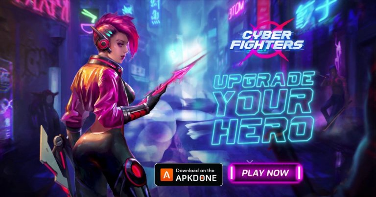 Cyber Fighters MOD APK 1.11.60 Download (Free shopping) for Android