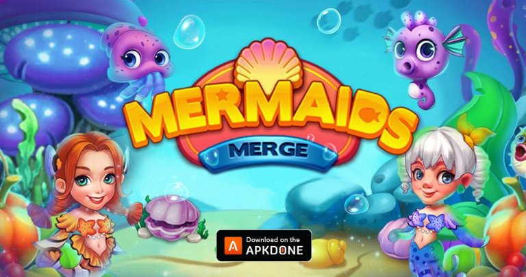 Merge Mermaids MOD APK 1.11.0 Download (Unlimited Gen) for Android