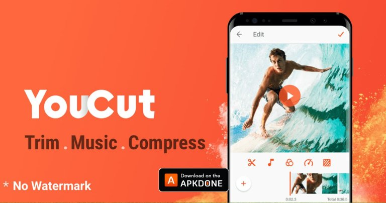 YouCut MOD APK 1.462.1127 Download (Unlocked) free for Android