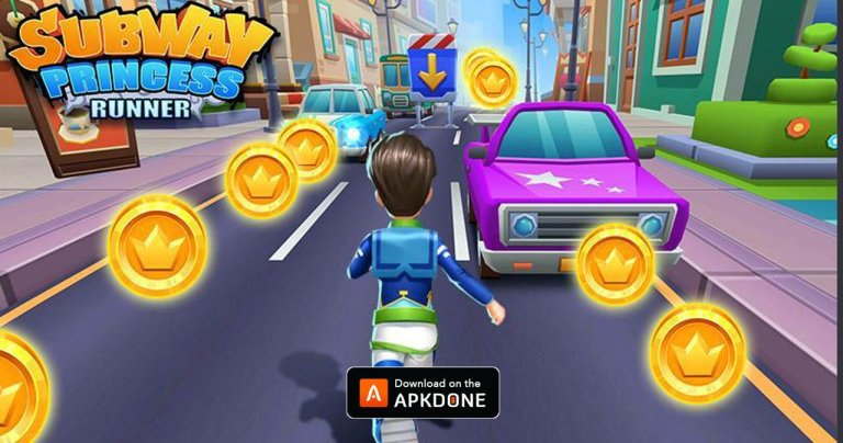 Subway Princess Runner MOD APK 5.9.1 Download (Unlimited Money) for Android