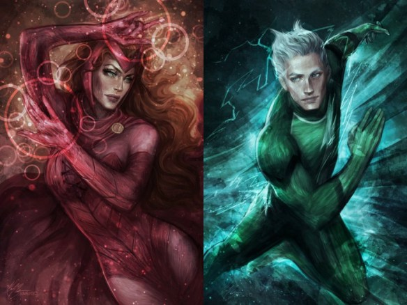 Scarlet Witch and Quicksilver are Inhumans