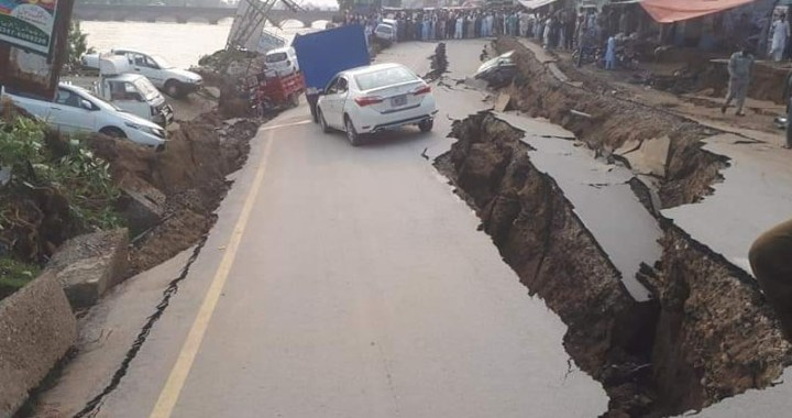 زلزلے سے آزاد کشمیر میں تباہی ،26افرادجاں بحق ،300سے زائدزخمی