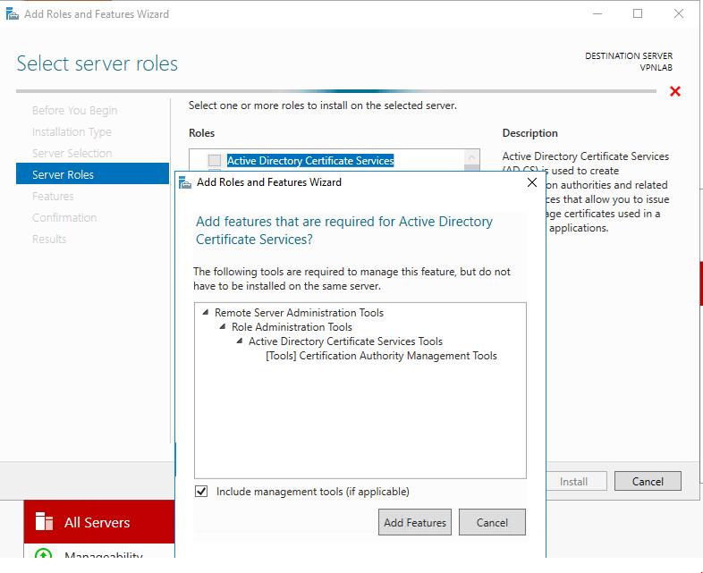 Create A Standalone Certificate Authority In Windows Server 2016