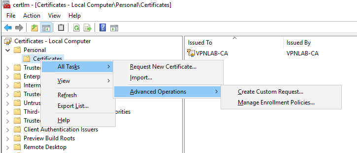 Create an SSTP VPN Server in Windows Server 2016 - DailySysAdmin