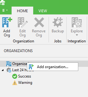 Installing and configuring Veeam Backup for Office 365