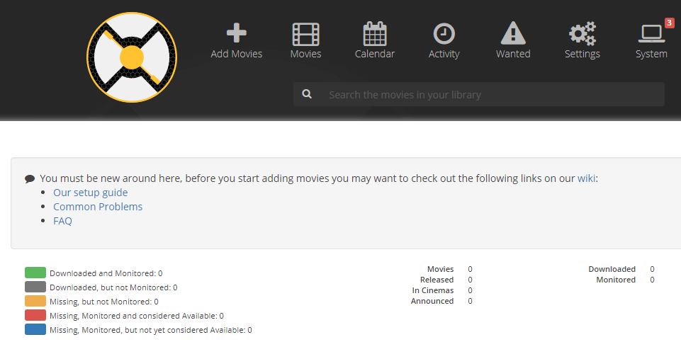 Installing and Configuring Radarr and integrating with a Plex Media
