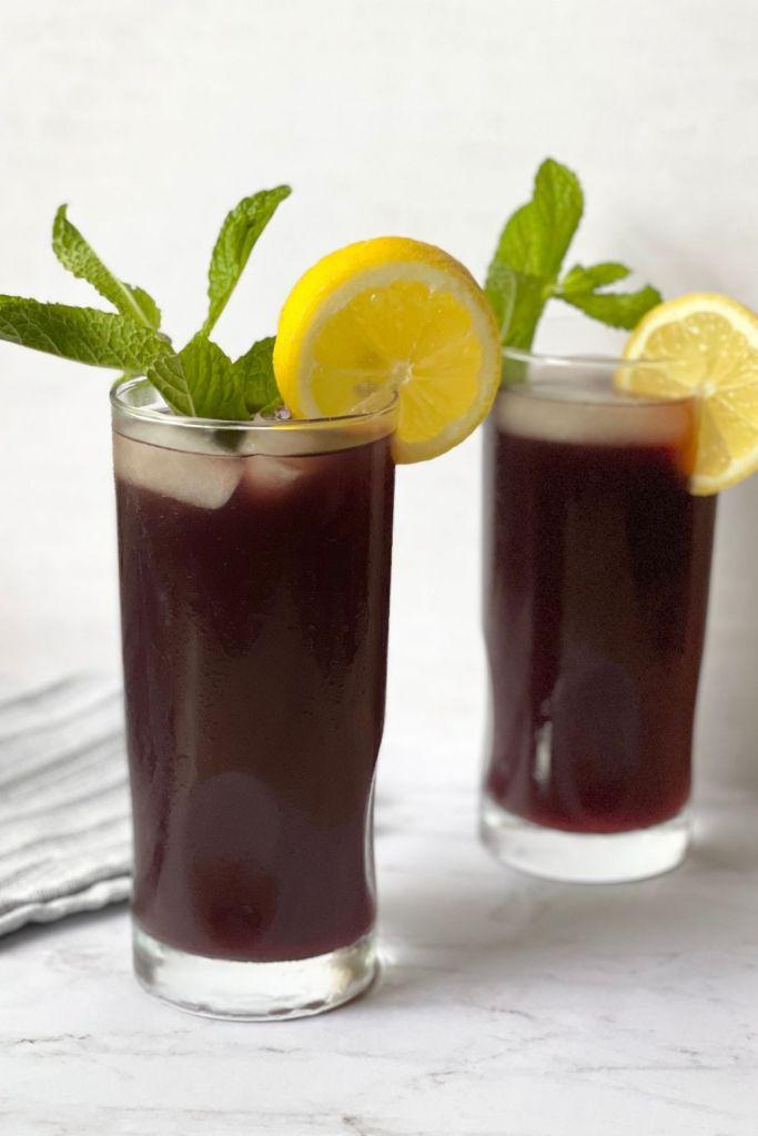 blackberry iced tea