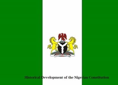 Historical Development of the Nigerian Constitution