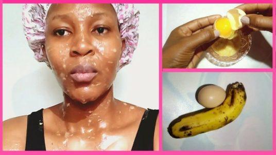 Banana And Egg White For Wrinkles