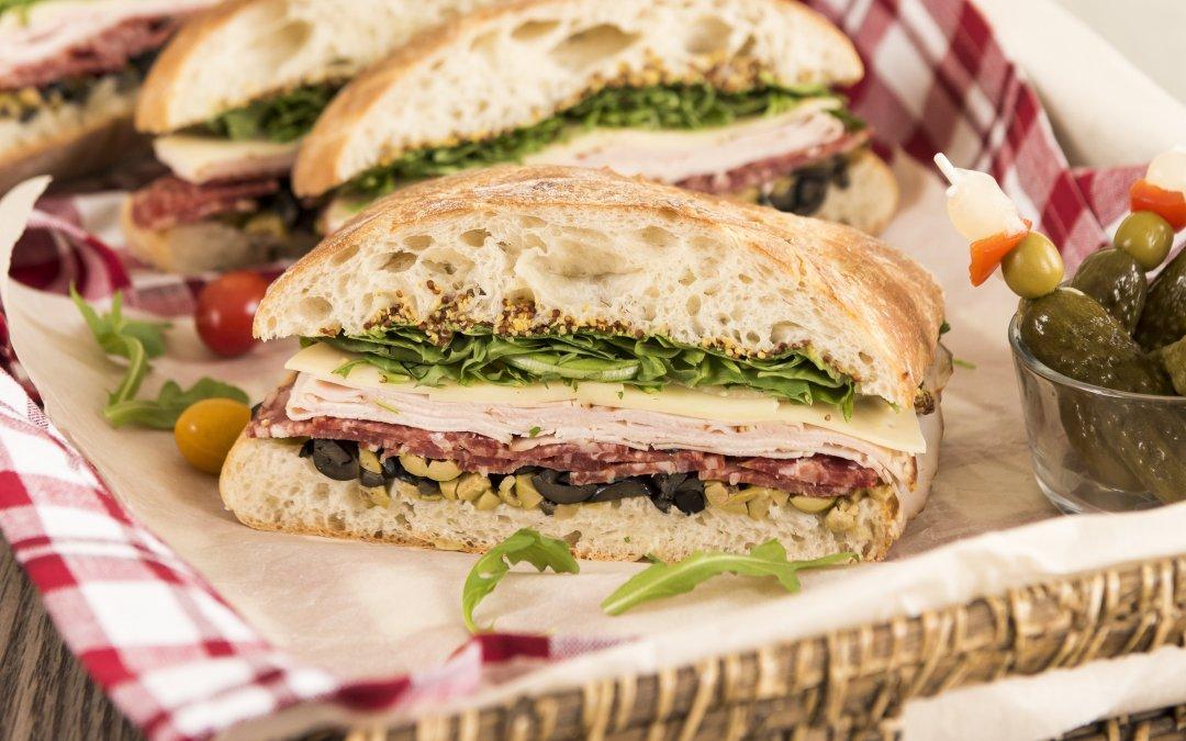 Muffaletta Sandwiches