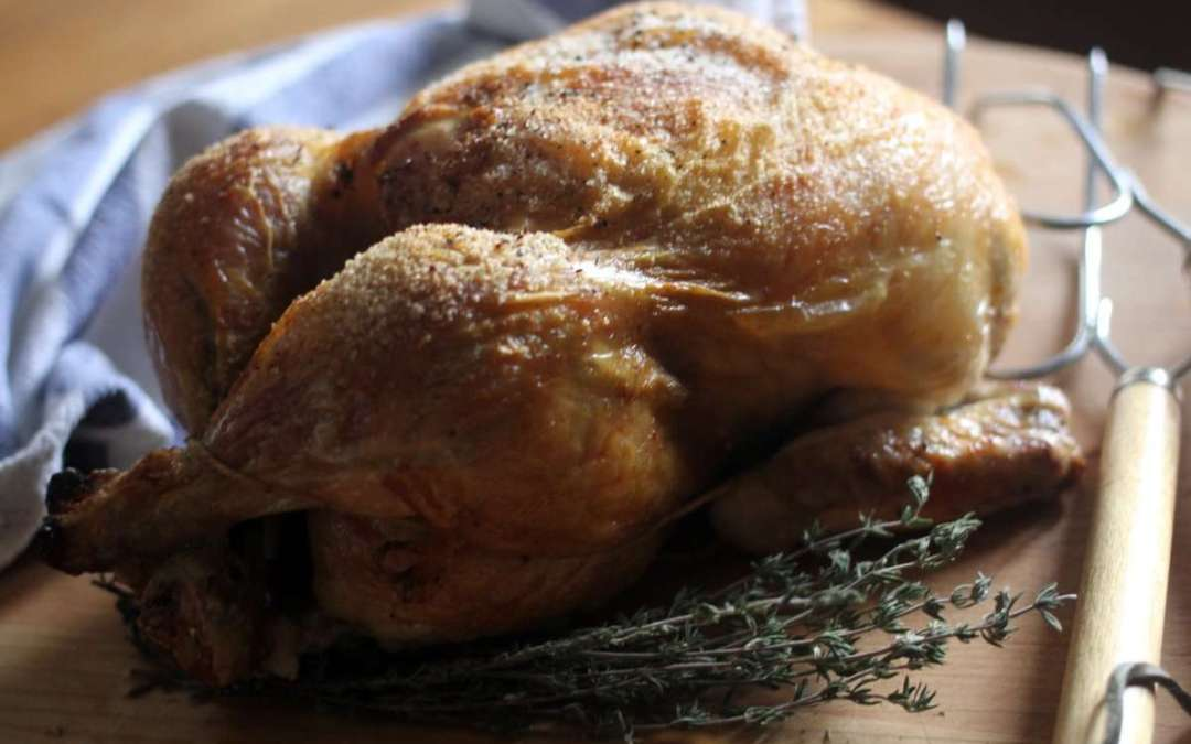 Video: 3-Step, Easiest Whole Roasted Chicken