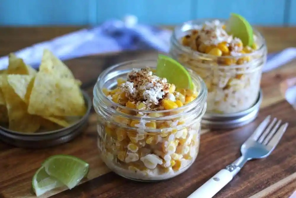 Mexican Street Corn Cups /w Summer Fresh Five Cheese Dip (GF) #FreshBTS