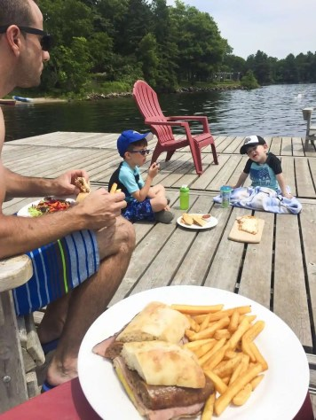 Julie Miguel of the Toronto Lifestyle blog dailytiramisu.com visits Viamede Resort in the Kawartha Lakes