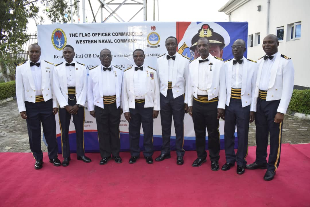 The Western Naval Command on Wednesday decorated 50 newly promoted officers through the approval of the Naval Headquarters, the News Agency of Nigeria reports. Rear Adm. Oladele Daji, the Flag Officer Commanding (FOC), Western Naval Command at the Shipping of Stripes ceremony in Lagos, urged the officers on more dedication to duty and loyalty to […]