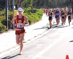 In form · Zsofia Erdelyi, one of the Women of Troy's top returning runners this season, qualified for the NCAA championships last year. -  Photo courtesy of USC Sports Information
