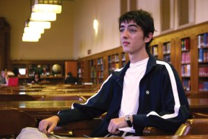 "Legality · Andrew Post, a third year law student at the USC Gould School of Law, started the ""Spirit of Law"" speaker series this year. - Hide Kurokawa  