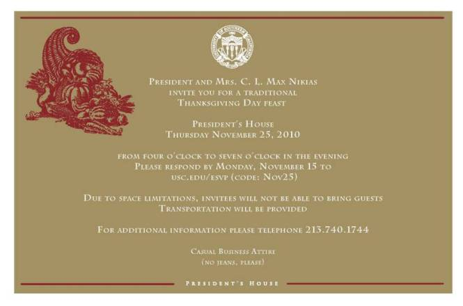 thanksgiving invitation examples Cogimbous – Get Together Invitation Template