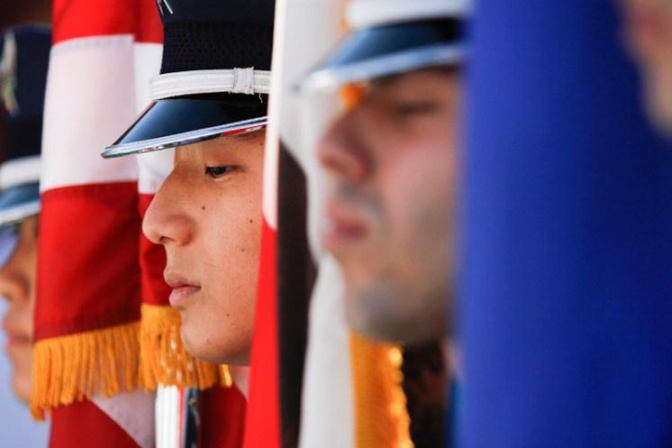 US Air Force pregame