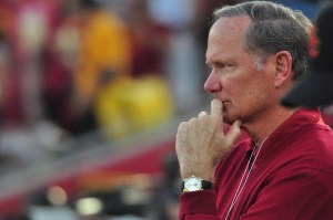 Tough Decisions · USC athletic director Pat Haden will need to choose between a head coach with experience in the NBA and a head coach who has made a name for himself in the college ranks. - Carlo Acenas | Daily Trojan