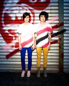 Dynamic duo · Tegan and Sara Quin have made a name for themeselves through their unique blend of pop and indie sounds. - Courtesy of Lindsey Byrnes