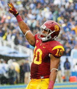 Center of attention · The Trojans will rely on redshirt junior linebacker Hayes Pullard as a fulcrum in   defensive coordinator Clancy Pendergast's 5-2 scheme as the leading returner on defense with 108 tackles. - Daily Trojan file photo