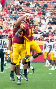 Ready for action · USC sophomore wide receiver Nelson Agholor (15) is primed for a breakout 2013 season after turning heads as a freshman. - Ralf Cheung   Daily Trojan