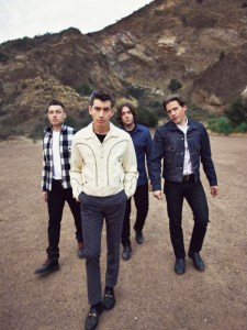 """No monkey business · English indie rock band Arctic Monkeys are in fine form on AM, with single """"R U Mine?"""" peaking at No. 23 in the UK. - Courtesy of Domino Records"""