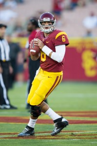 Time to shine · Newly annointed starting quarterback Cody Kessler has completed 18 of his 32 passes for 136 yards for one touchdown this season. - Ralf Cheung | Daily Trojan