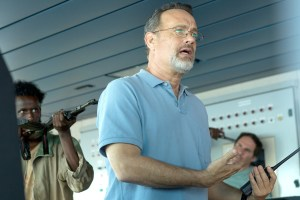 Captivating performance · Captain Phillips is based on the memoir of Captain Richard Phillips, played by Hanks (right). The film depicts hostage negotiations between Somali pirates and the Navy for Phillips' release. - Courtesy of Sony Pictures Publicity