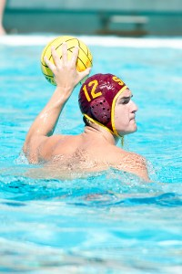 Lead the way · Senior two-meter Connor Virjee posted a team-high five goals in the Trojans' 16-10 victory over UC Santa Barbara on Sunday. - Chris Roman | Daily Trojan