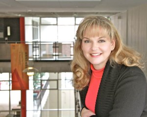 Giving back, Trojan style · Alumna Jacki Wells Cisneros has pledged $500,000 toward the naming of the assignment desk at the new Wallis Annenberg Hall, which will finish construction in fall 2014. - Photo courtesy of Gretchen Parker