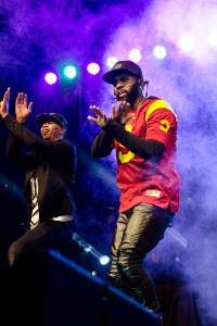 'Don't Wanna Go Home' · Featured artist Jason Derulo performs in front of students during Conquest on Monday night at McCarthy Quad. - Benjamin Dunn | El Rodeo