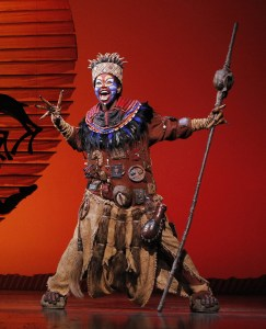 Circle of life · Prior to the current run, The Lion King at the Hollywood Pantages ran for a little more than two years, with 952 performances. - Photo courtesy of Joan Marcus