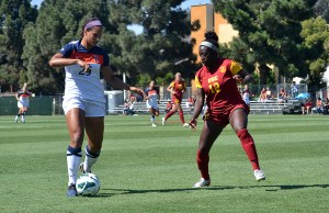 History · Freshman defender Mandy Freeman's selection to the first team All-Pac-12 marks the first time a USC player has made the team since 2009. - Jasmine Rolle   Daily Trojan