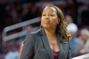 Righting the ship · Head coach Cynthia Cooper-Dyke's Women of Troy started out strong in 2014, winning seven of their first eight Pac-12 games. Since then, USC has dropped six of eight, including their last three contests. - Corey Marquetti | Daily Trojan